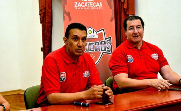 Compra gobierno de Zacatecas equipo de basquetbol
