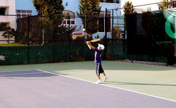 Realizarán torneo estatal de tenis infantil
