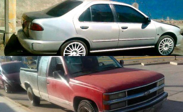 Recupera PEP dos vehículos robados; hay un detenido