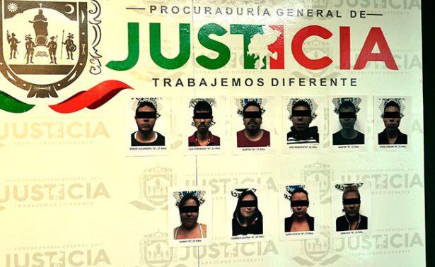 Sentencian a 112 años de prisión a banda de secuestradores