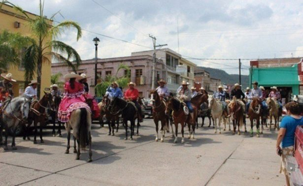 Preparan cabalgata en San Pedro, Huanusco
