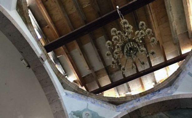 Entregan cúpula restaurada en Tabasco, Zacatecas