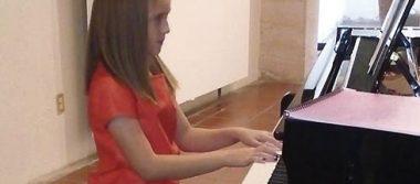 Infantes ofrecieron hermoso recital de piano