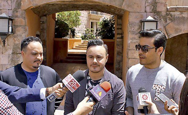 Río Roma y Carlos Rivera graban videoclip en Zacatecas