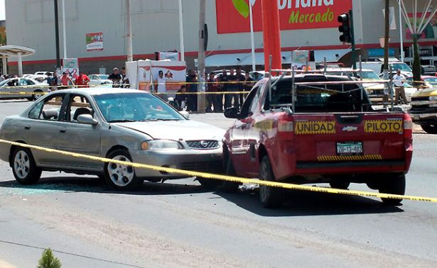 Persecución y balacera en Guadalupe; hay un herido