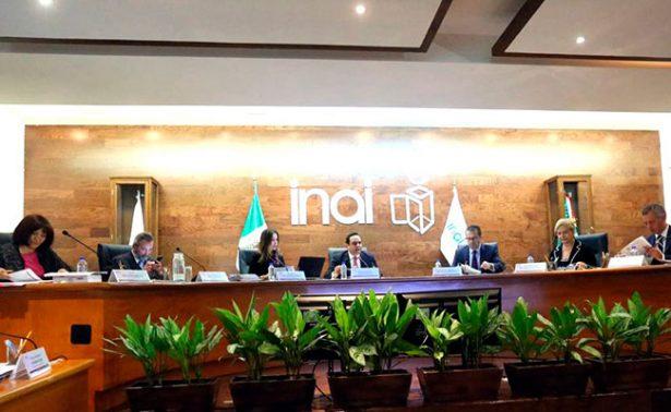 Alista Inai recursos contra ley de Zacatecas
