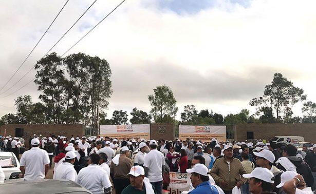 Toma SNTE34 instalaciones del Issste en Zacatecas