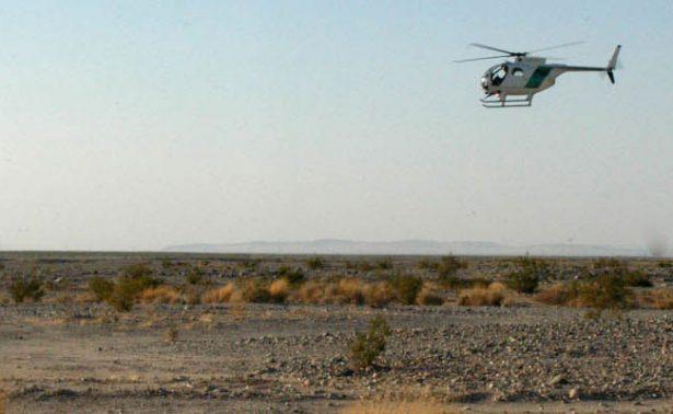 Rescatan a zacatecano abandonado en desierto de Texas