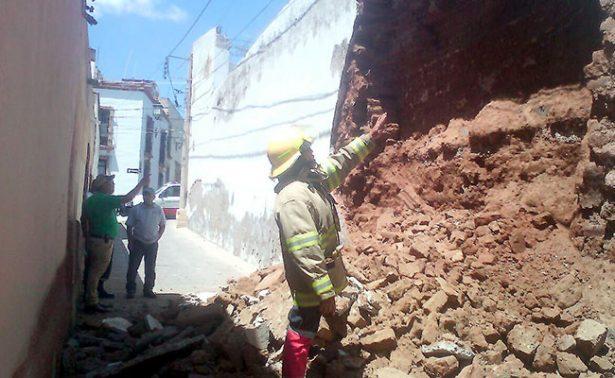 [video] Colapsa el muro del almacén de Issstezac
