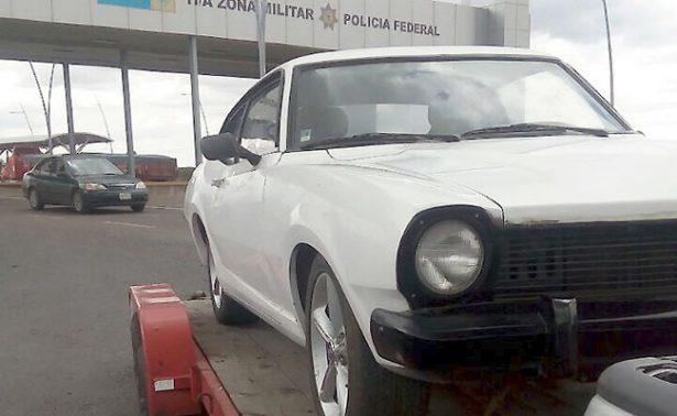 Recuperan en Trancoso un vehículo robado