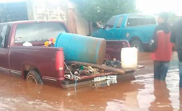 Llovió en Colonia Progreso y afectó a 30 viviendas