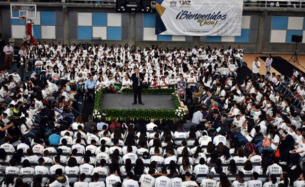 Rector insiste: la UAZ no rechazará alumnos