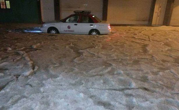 Lluvia, granizada y vientos causan daños en nueve municipios