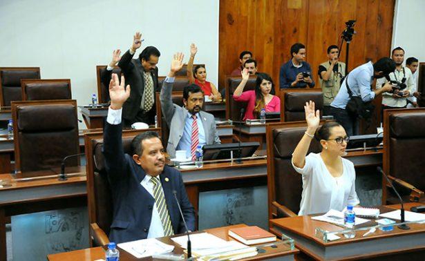 Diputados oficiales no legislarán revocación de mandato