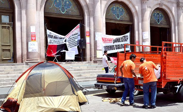 SITEZ, a huelga de hambre con docentes universitarios