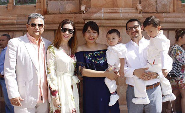 Doble bautizo en la familia Paulín Ramírez