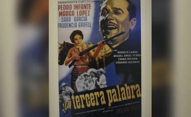 Exponen carteles del cine de oro mexicano