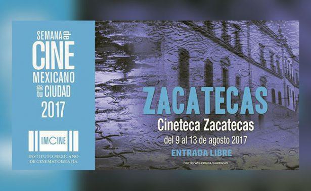 Anuncian programa de Semana de Cine Mexicano