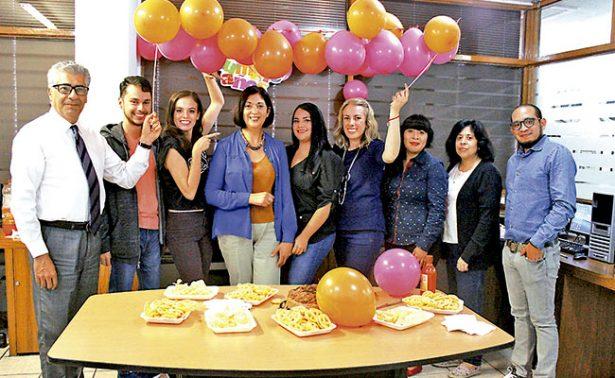Paty Martínez tuvo un cumpleaños muy especial