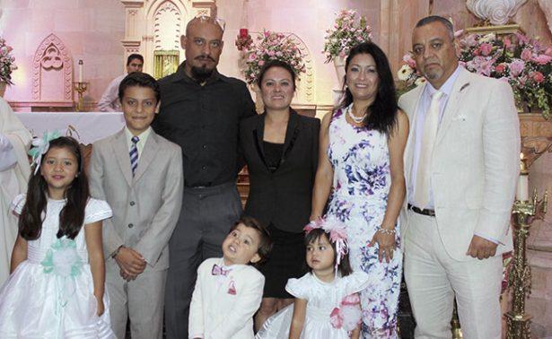 Mateo y Karol celebraron juntos sus tres añitos