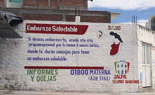 """Continúa en Jalpa campaña """"Embarazo saludable"""""""