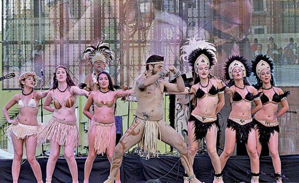 Chile encantó a los zacatecanos con su folclor
