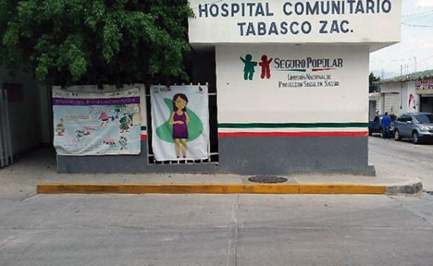 Cumple 50 años hospital de Tabasco, Zacatecas
