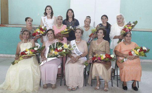 Elva Luz Valenzuela es la reina del INAPAM de Jalpa