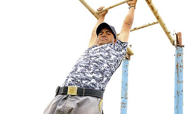 Jorge Vela, Sargento Primero de pentatlón