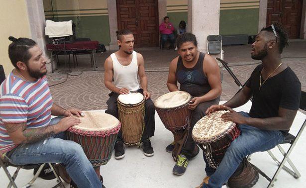 Yadi Camara trae la música africana a Zacatecas