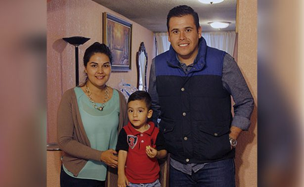 La familia Núñez García festejó a su pequeño hijo