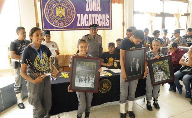 Premian a pentatletas que triunfaron en Jalisco