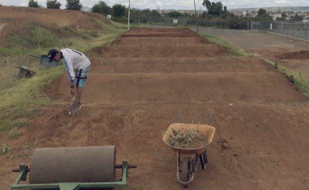 Pista y pedalistas listos para la Copa de Bicicross