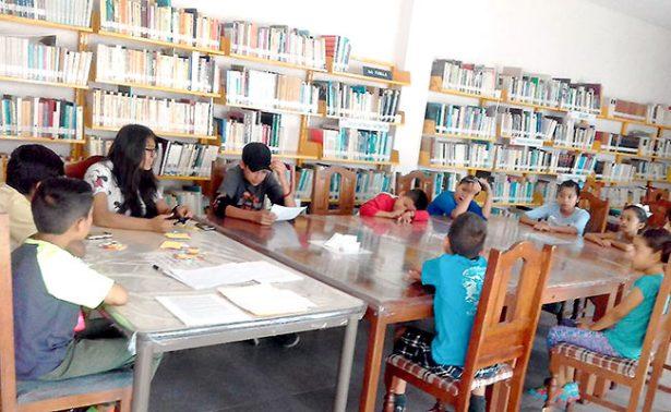 Disminuye robo de libros en la Biblioteca Central