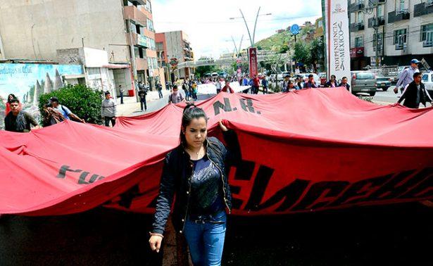 Recuerdan en Zacatecas a los 43 de Ayotzinapa