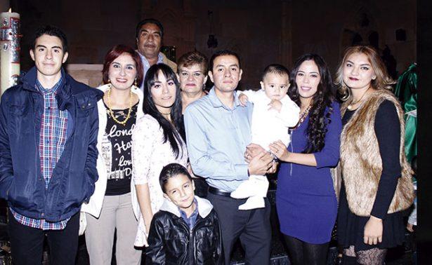 Bautizaron al pequeño Marvin Redel Juárez