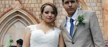 Jesús y Mariana unieron sus vidas en matrimonio