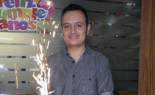 Alan González, felicidades por tu cumpleaños