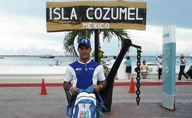 Mike Alvarado, quinto lugar en Ironman Los Cabos 70.3