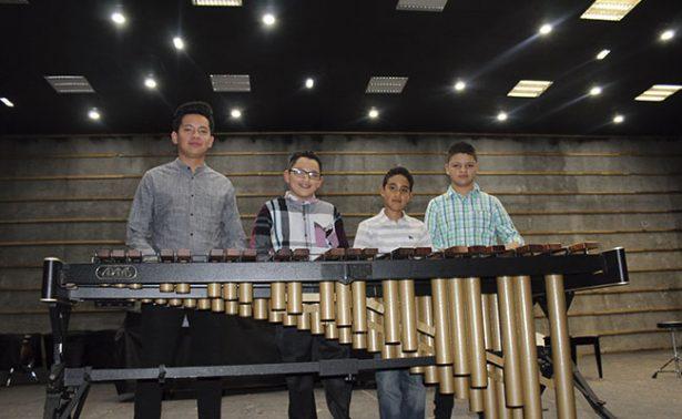 Estudiantes de la UAZ ofrecen recital de percusiones