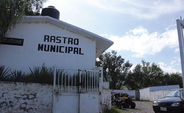 Que es necesario un nuevo rastro municipal en Jalpa