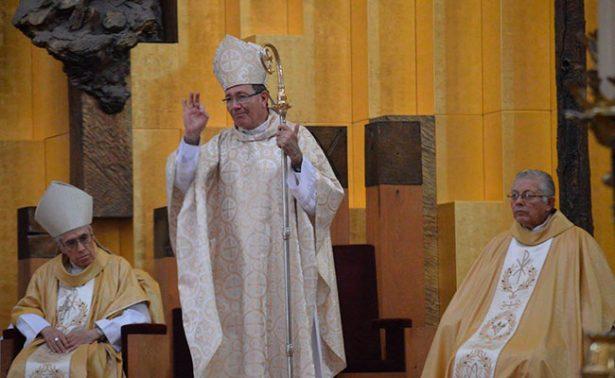 Celebra grey católica zacatecana quinto aniversario del Obispo Sigifredo