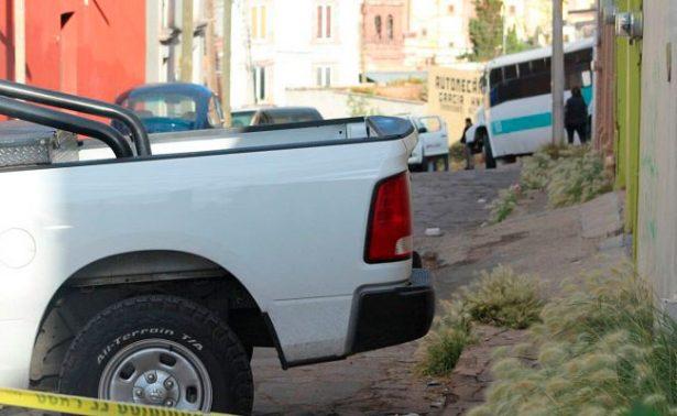 Asesinan a operador de ruta 13 en la capital zacatecana