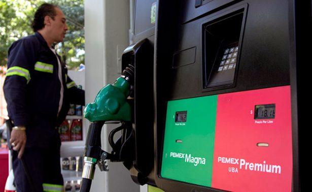 Premium se vende hasta en 18.42 pesos por litro este martes
