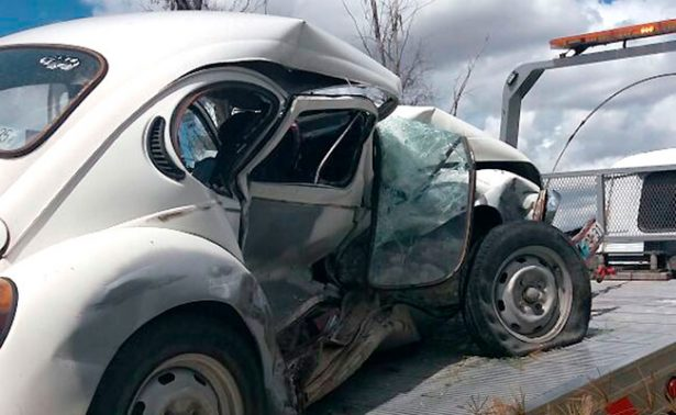 Loretense resultó herido en accidente en Aguascalientes
