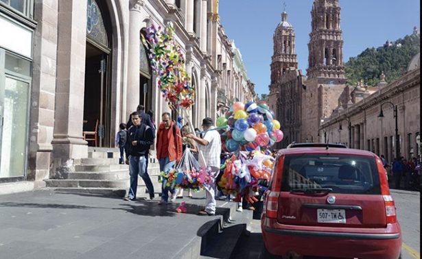 Zacatecas registra temperatura mínima de cuatro grados