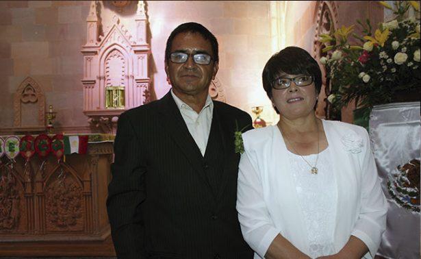 María y Rosendo unieron sus vidas en matrimonio