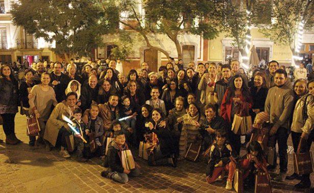 La familia Cato se reunió en Zacatecas desde Irak