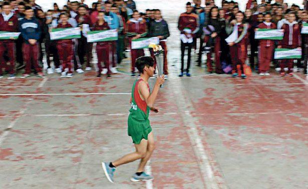 El CECyTEZ recibió a los deportistas de Zacatecas