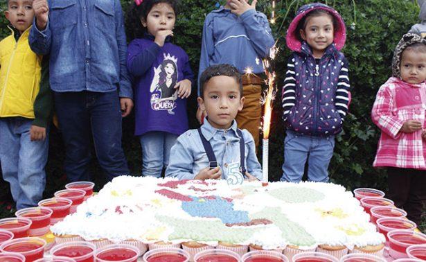 Un divertidísimo cumpleaños para Dylan García
